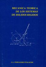 MECANICA TEORICA DE LOS SISTEMAS DE SOLIDOS RIGIDOS