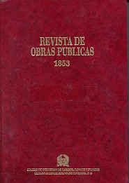 CHI-49 REVISTA DE OBRAS PUBLICAS. AÑO 1.853 (FACSIMIL)