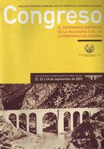 EDE-44 CONGRESO EL PATRIMONIO HISTORICO DE LA INGENIERIA CIVIL EN LA COMUNIDAD VALENCIANA (VALENCIA, 22-24 SEPTIEMBRE 2003). LIBRO DE PONENCIAS