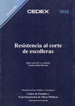 RESISTENCIA AL CORTE DE ESCOLLERAS M-18