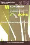 II CONGRESO DE LA ASOCIACION CIENTIFICO-TECNICA DEL HORMIGON ESTRUCTURAL. ACHE: PUENTES Y ESTRUCTURAS DE EDIFICACION, 4 VOLS. + CD-ROM