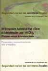 XIV SYMPOSIUM NACIONAL DE VIAS Y OBRAS DE ADMINISTRACION LOCAL VYODEAL.