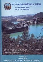 VII JORNADAS ESPAÑOLAS DE PRESAS (ZARAGOZA, 29-31 MAYO DE 2002). 4 TOMOS + CD