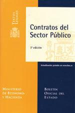 CONTRATOS DEL SECTOR PUBLICO. ACTUALIZACION GRATUITA EN WWW.BOE.ES