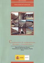 CONSTRUCCION DE EXPLANACIONES, DRENAJES Y CIMENTACIONES (PG-3). INCLUYE DISQUETE - 1ª REIMPRESION OCTUBRE 2003