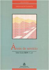 AREAS DE SERVICIO. ORDEN CIRCULAR 320/94 C.Y E.