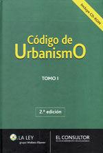 CODIGO DE URBANISMO. 2 TOMOS. 2ª EDICION. INCLUYE CD