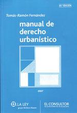 MANUAL DE DERECHO URBANISTICO. 20ª EDICION