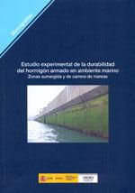 ESTUDIO EXPERIMENTAL DE LA DURABILIDAD DEL HORMIGON ARMADO EN AMBIENTE MARINO (ZONAS SUMERGIDA Y DE CARRERA DE MAREAS). M-103
