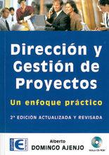 *DIRECCION Y GESTION DE PROYECTOS. UN ENFOQUE PRACTICO. 2ª EDICION. INCLUYE CD
