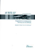 RITE-07. REGLAMENTO DE INSTALACIONES TERMICAS EN LOS EDIFICIOS (ADAPTADO AL CTE)