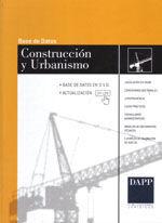BASE DE DATOS DE CONSTRUCCION Y URBANISMO. EN DVD, ACTUALIZABLE ON-LINE DURANTE EL AÑO. LEGISLACION VIGENTE, COMENTARIOS DOCTRINALES, JURISPRUDENCIA, CASOS PRACTICOS, FORMULARIOS Y MODELOS DE DOCUMENT