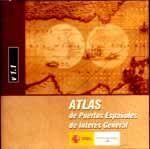 CD-ROM ATLAS DE PUERTOS ESPAÑOLES DE INTERES GENERAL