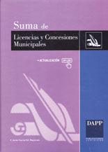 BASE DE DATOS SUMA DE LICENCIAS Y CONCESIONES MUNICIPALES. ACTUALIZABLE ON-LINE. LICENCIAS URBANISTICAS, DE APERTURA, DEMANIALES, ETC. CONTIENE LEGISLACION ESTATAL, AUTONOMICA Y MUNICIPAL COMENTADA+ L