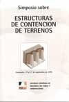 SIMPOSIO SOBRE ESTRUCTURAS DE CONTENCION DE TERRENOS (SANTANDER 1996)