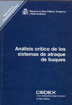 ANALISIS CRITICO DE LOS SISTEMAS DE ATRAQUE DE BUQUES, R-6