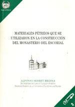 EDE-19 MATERIALES PETREOS QUE SE UTILIZARON EN LA CONSTRUCCION DEL MONASTERIO DEL ESCORIAL